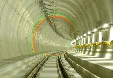 ROCS installed in Ceneri Tunnel