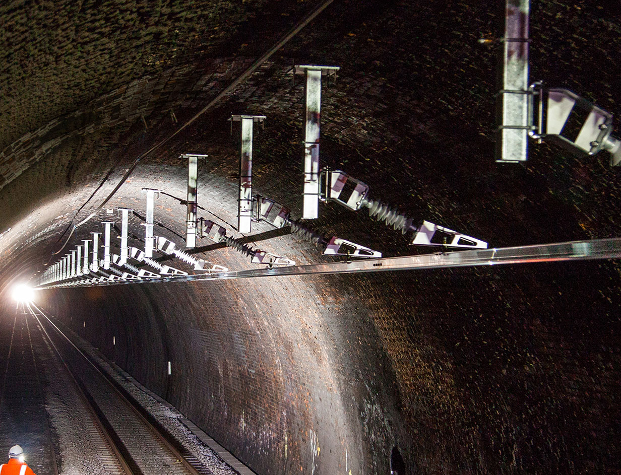 Furrer Frey Overhead Contact Lines Stanton Tunnel